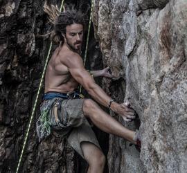 Climbing on Koh Tao