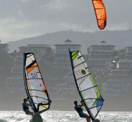 Windsurf on Boracay