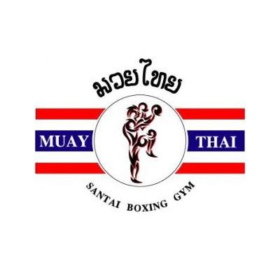 Santai Muay Thai Logo Image